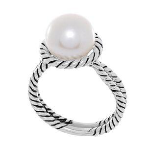 David Yurman Authentic Pearl Ring- Size 7.5